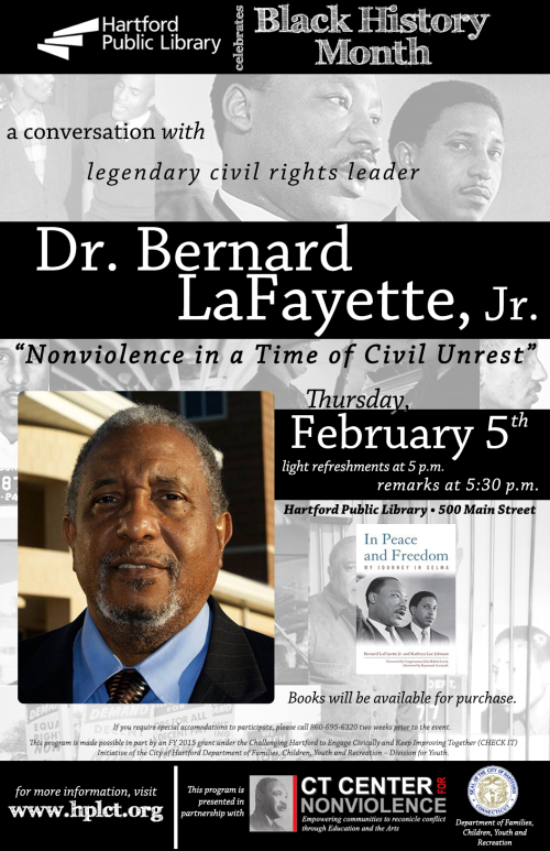 Dr. Bernard LaFayette, Jr. - Legendary Civil Rights Leader